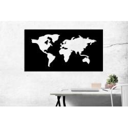 Magnetyczna mapa świata