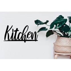 Metalowy napis Kitchen dekoracja ścienna