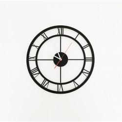 Metalowy Zegar Ścienny Rzymski