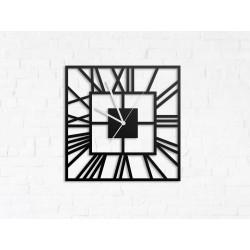 Kwadratowy zegar ścienny rzymski