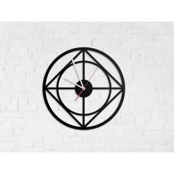Metalowy Zegar Ścienny Industrialny