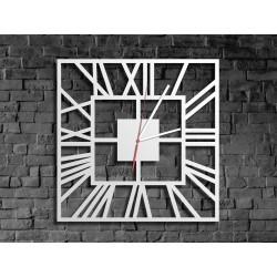 Biały zegar rzymski